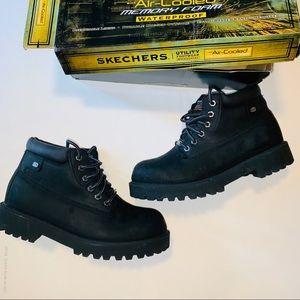 Skechers Utility Footwear Waterproof Boots